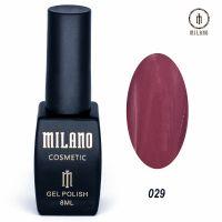 Гель-лак Milano Cosmetic №029, 8 мл