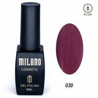 Гель-лак Milano Cosmetic №030, 8 мл