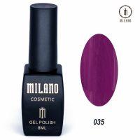 Гель-лак Milano Cosmetic №035, 8 мл