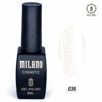 Гель-лак Milano Cosmetic №036, 8 мл