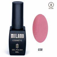 Гель-лак Milano Cosmetic №038, 8 мл