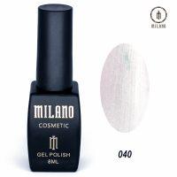 Гель-лак Milano Cosmetic №040, 8 мл