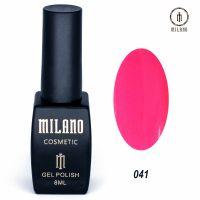 Гель-лак Milano Cosmetic №041, 8 мл