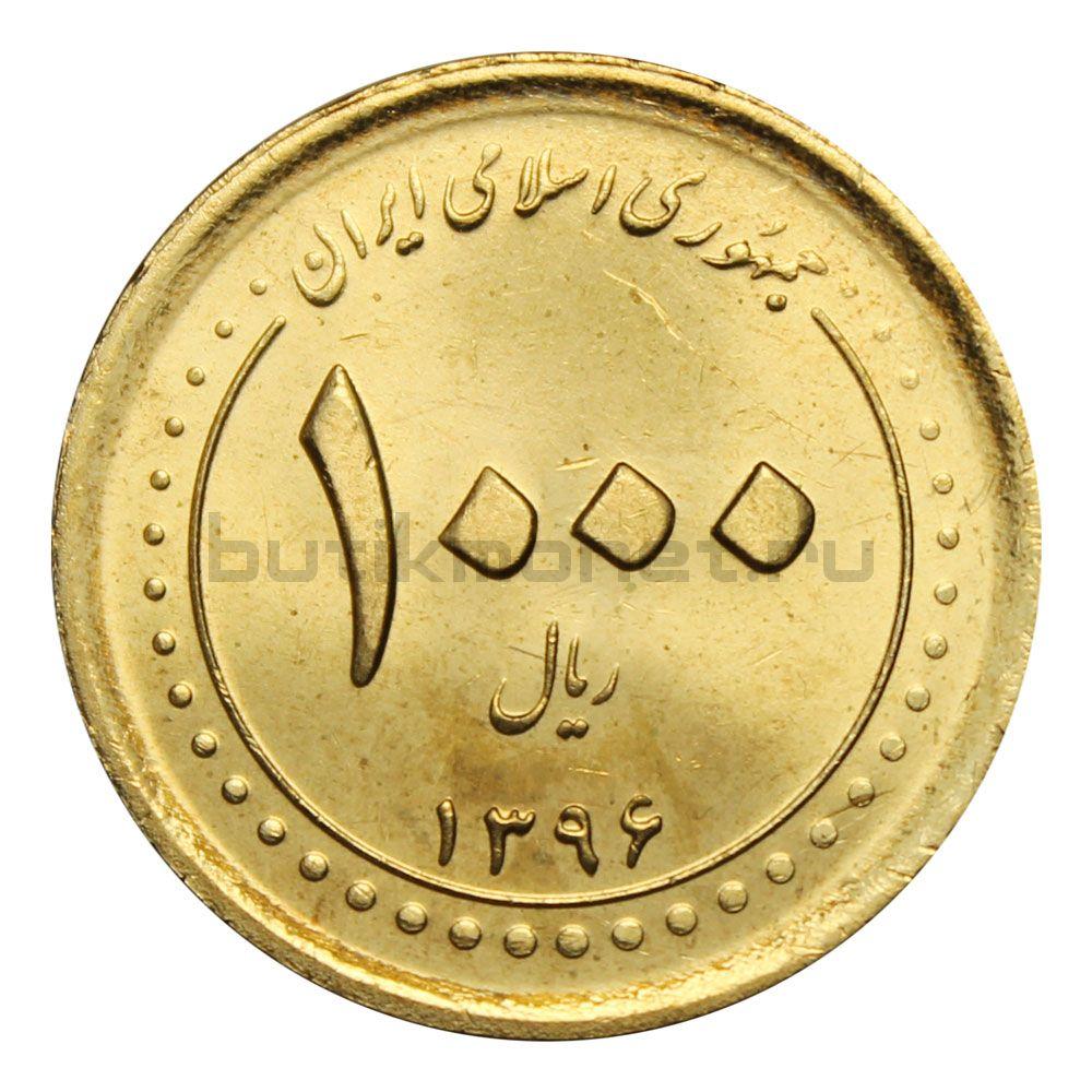 1000 риалов 2017 Иран Мавзолей Шах-Черах в Ширазе