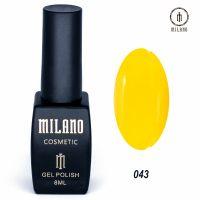 Гель-лак Milano Cosmetic №043, 8 мл
