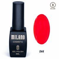 Гель-лак Milano Cosmetic №044, 8 мл