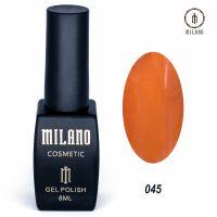 Гель-лак Milano Cosmetic №045, 8 мл