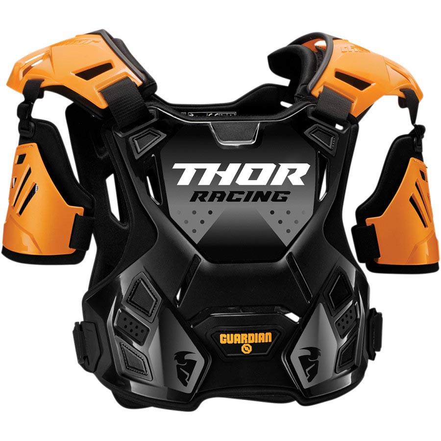 Thor Guardian Black/Orange защитный жилет, черно-оранжевый