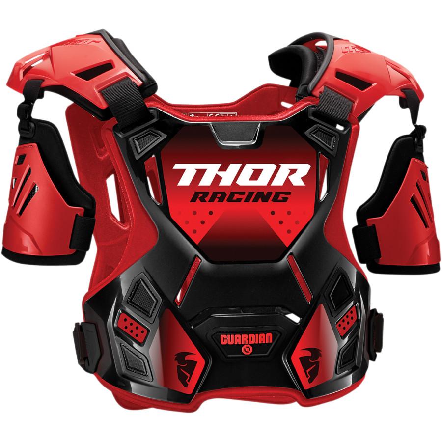 Thor Guardian Red/Black защитный жилет, красно-черный