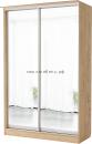 Шкаф-Купе Светлана (зеркало + зеркало)