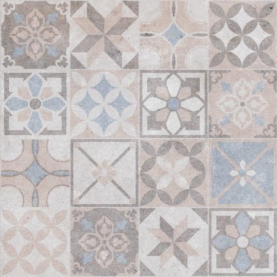 6046-0394 Керамогранит декор Македония 45х45 геометрия