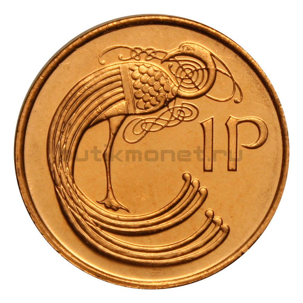 1 пенни 1996 Ирландия
