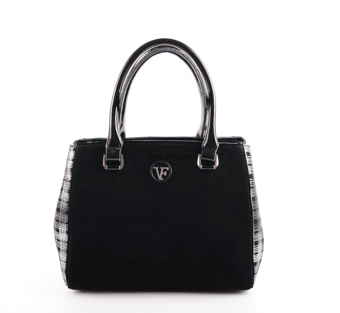 Сумка классическая Velina Fabbiano (чёрная)