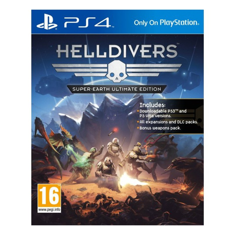 Игра Hell Divers (PS4)