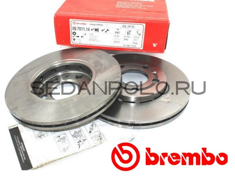 Тормозной диск передний Brembo