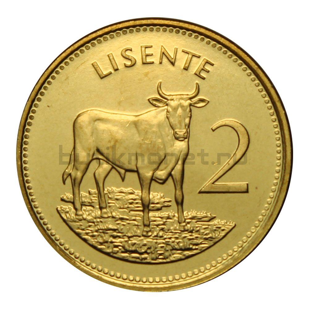 2 лисенте 1992 Лесото