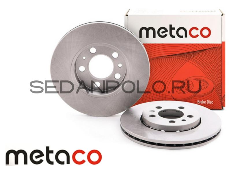Диск тормозной Metaco