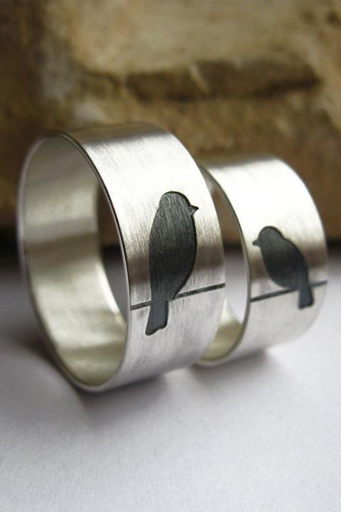 """Обручальные кольца""""неразлучники"""""""