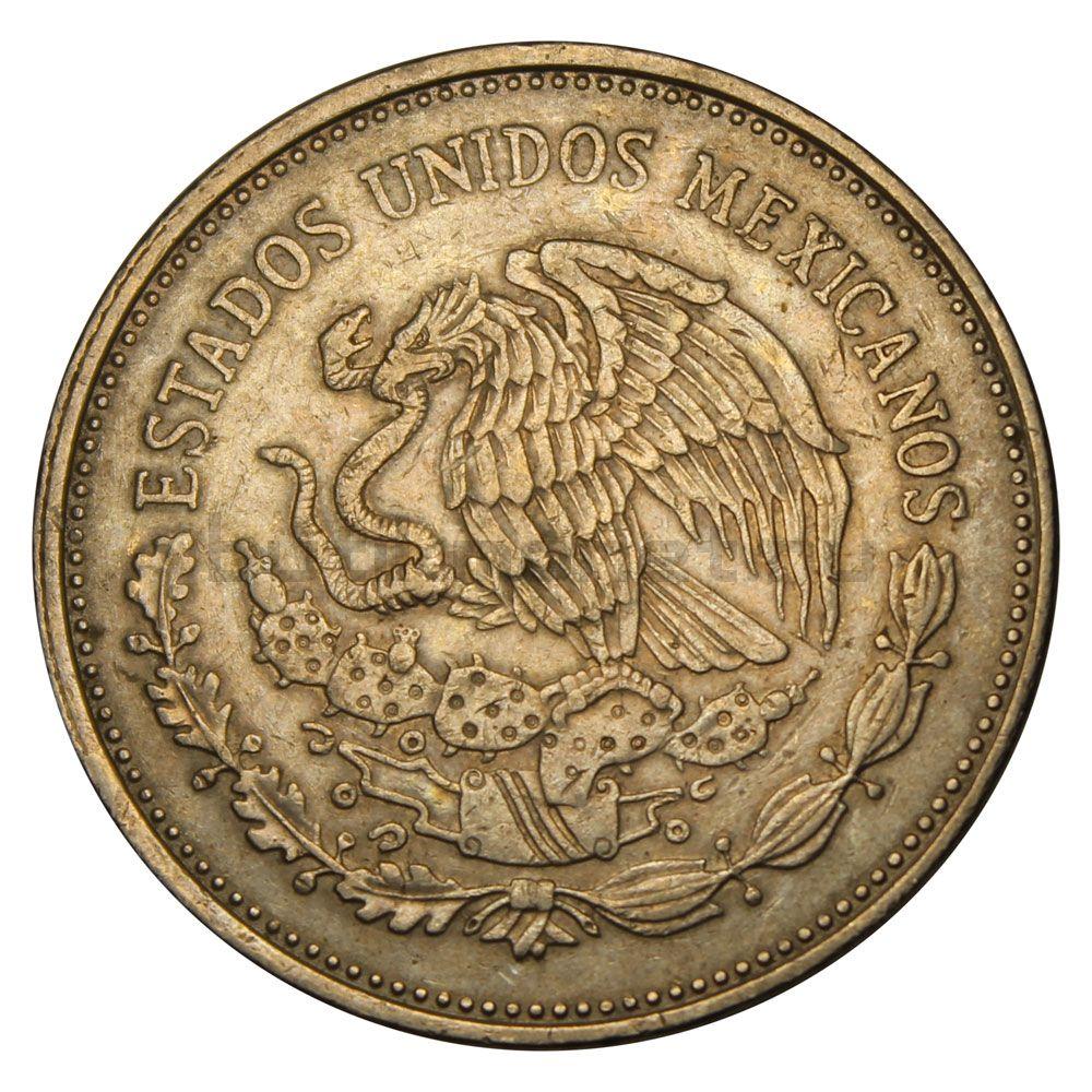 5000 песо 1988 Мексика 50 лет с момента национализации нефтяной промышленности