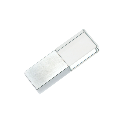 64GB USB3.0-флэш накопитель Apexto UG-001 стеклянный, зеленая LED, speedy
