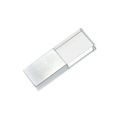 16GB USB3.0-флэш накопитель Apexto UG-001 стеклянный, синий LED, speedy