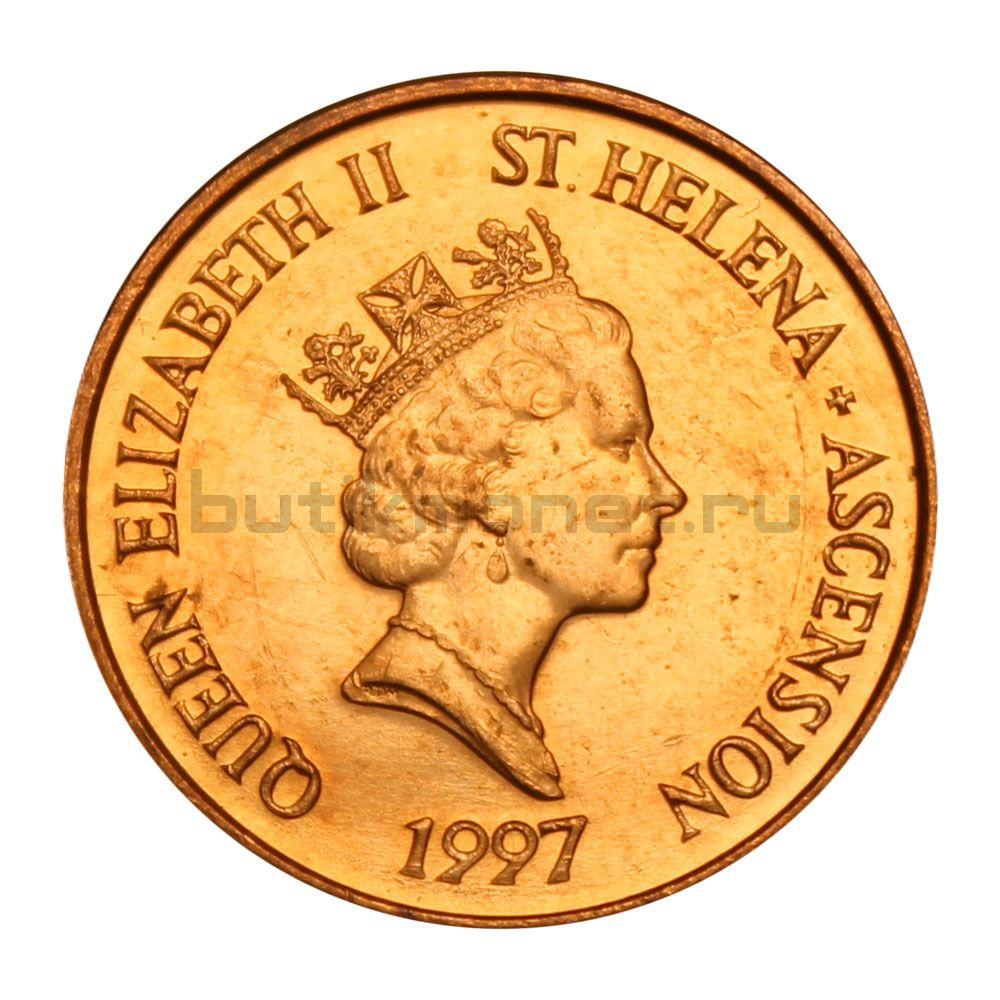 1 пенни 1997 Острова Святой Елены и Вознесения