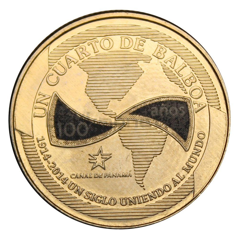1/4 бальбоа 2016 Панама Век объединяя мир (100 лет строительству Панамского канала)