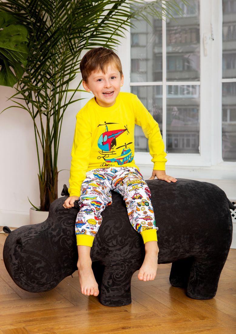 Пижама для мальчика Вертолет