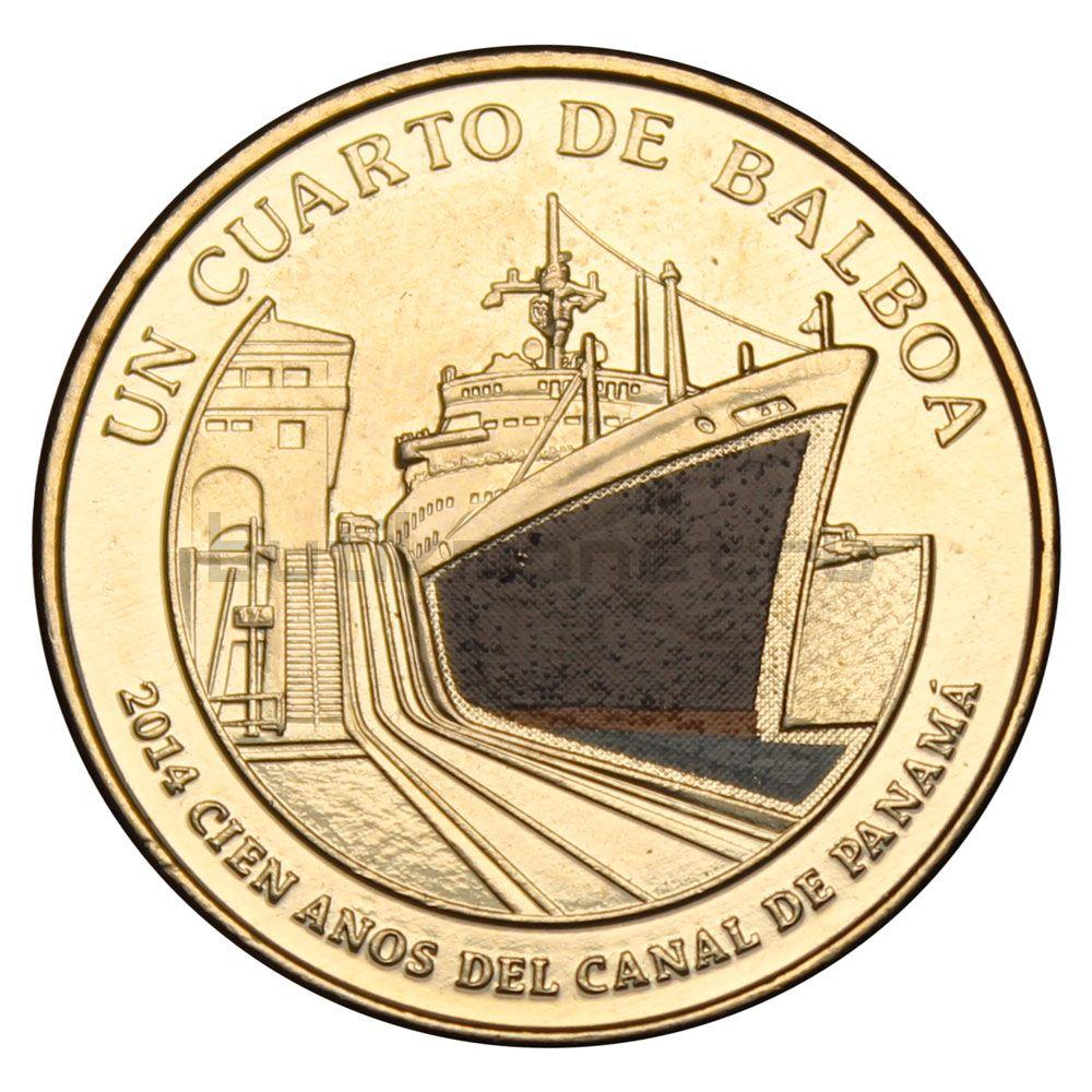 1/4 бальбоа 2016 Панама Углубление канала (100 лет строительству Панамского канала)