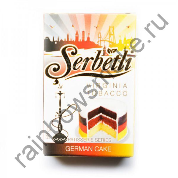Serbetli 50 гр - German Cake (Немецкий пирог)