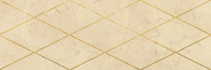 1664-0143 Настенная плитка декор Миланезе Дизайн 20х60 римский крема