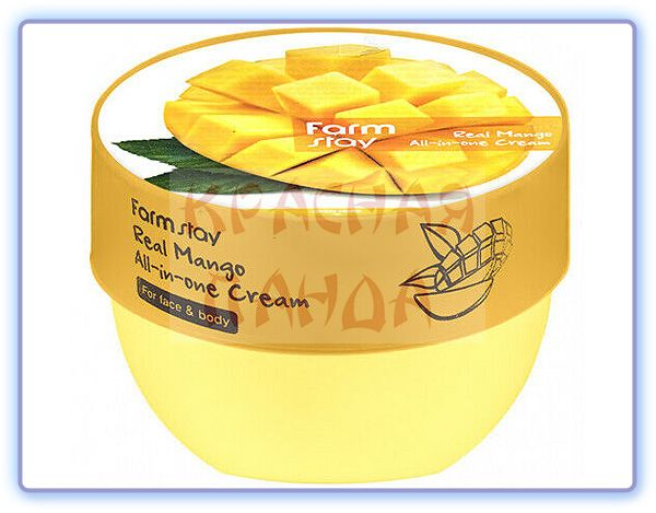 Крем для лица и тела с экстрактом манго FarmStay Real Mango All-in-one Cream