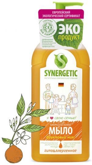 Synergetic Жидкое мыло Фруктовый микс 0,5 л