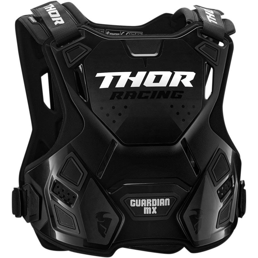 Thor Guardian MX Black защитный жилет, черный