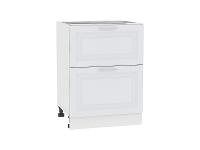Шкаф нижний с 2-мя ящиками Ницца Royal Н602 в цвете Blanco