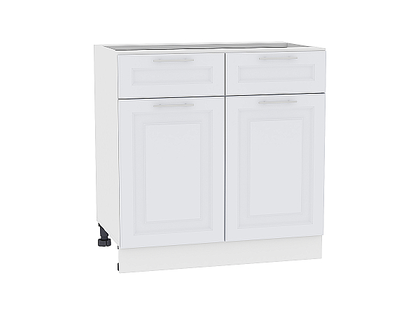 Шкаф нижний Ницца Royal Н801 (Blanco)