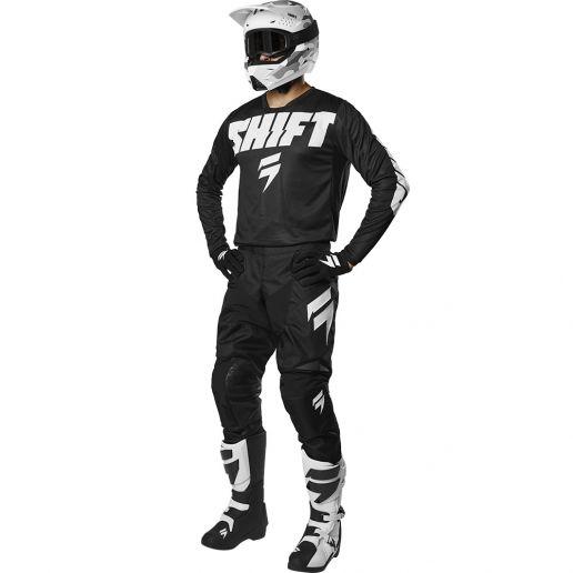 Shift - 2019 Whit3 Label York Black комплект джерси и штаны, черные