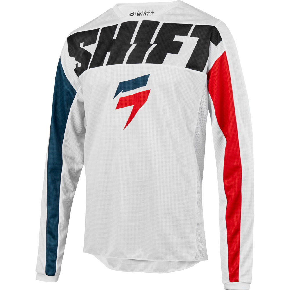 Shift - 2019 Whit3 Label York White джерси, белое