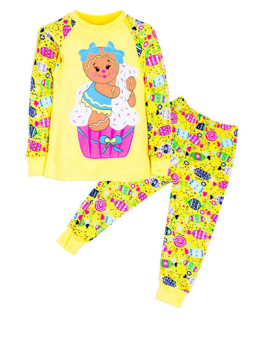 Пижама для девочки Сладости