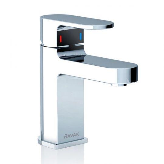 Ravak Chrome CR 012.00 смеситель для умывальника без донного клапана