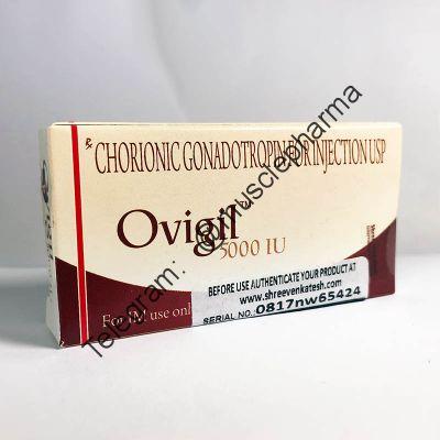 Гонадотропин OVIGIL (1 ампула 5000 ед + 1 амп. раствора)