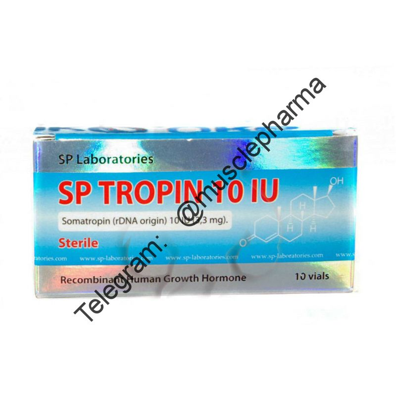"ГОРМОН РОСТА ""SPtropin"" 10 Vial x 10 IU (3.33mg). SP Laboratories"