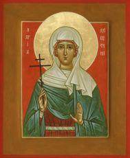 Икона Валентина Кесарийская меченица