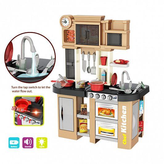 Кухня с водичкой и паром с аксессуарами 922-101