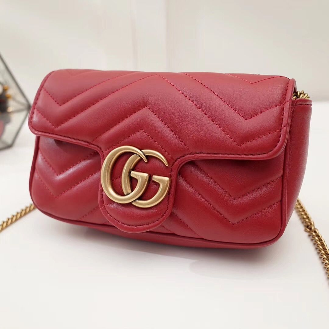 Сумка Gucci Marmont GG Super mini