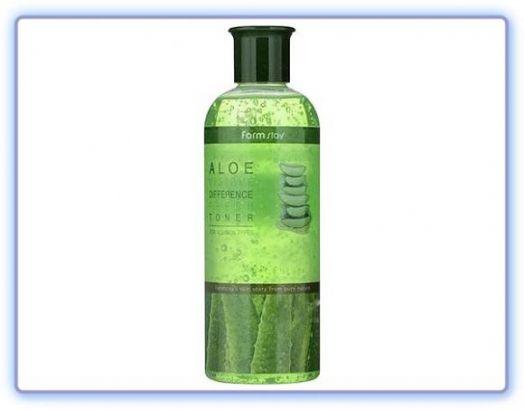 Увлажняющий тонер с экстрактом алоэ FarmStay Visible Difference Fresh Toner Aloe