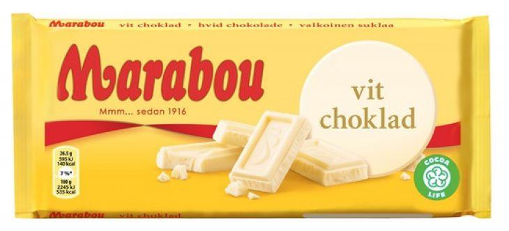MARABOU WHITE CHOKOLADE 200 гр