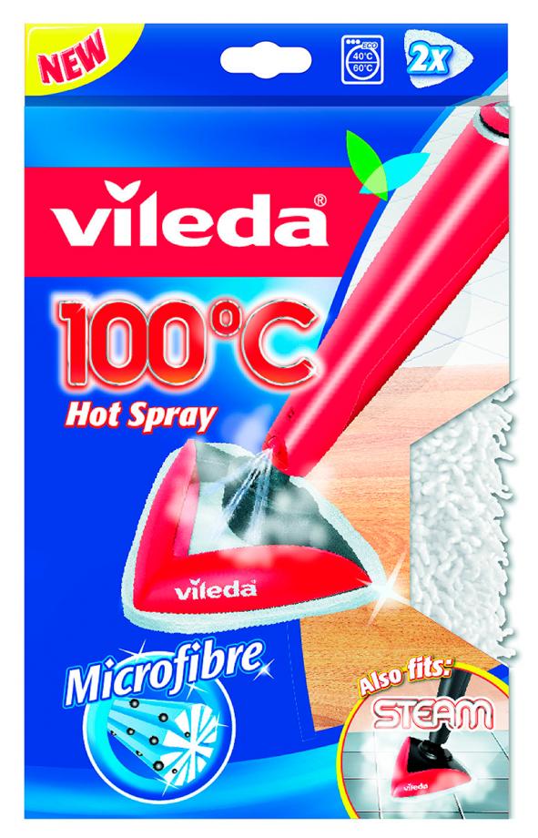 Сменная насадка для паровой швабры Vileda Steam, 2 шт/уп