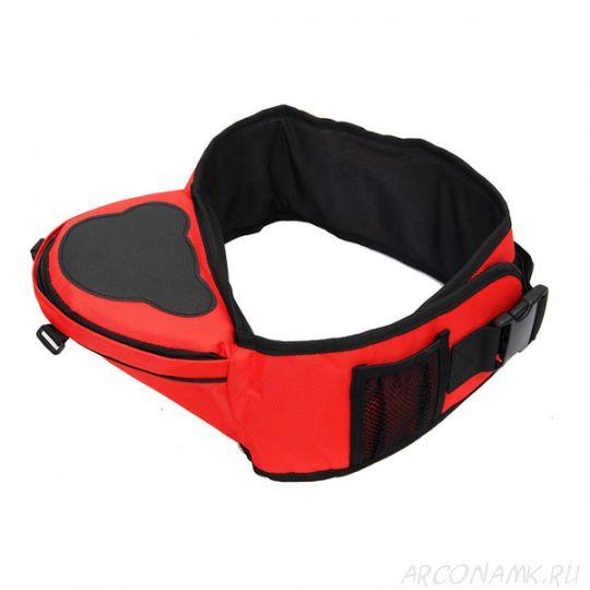 Многофункциональный хипсит со спинкой для переноски детей Hip Seat