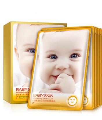 Отбеливающая маска «BIOAQUA» -кожа как у младенца.(3856)